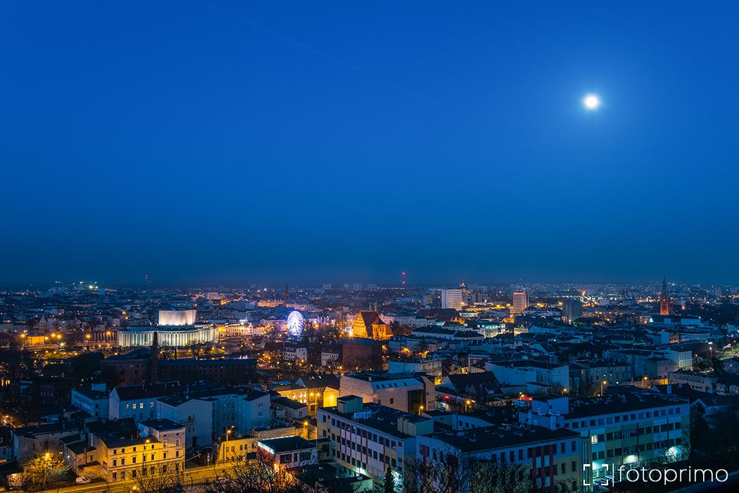 fotografie bydgoszczy nocą
